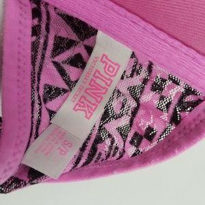 PINK Victoria's Secret Intimates & Sleepwear - PINK Victoria's Secret Strapless Lace Bra Size S